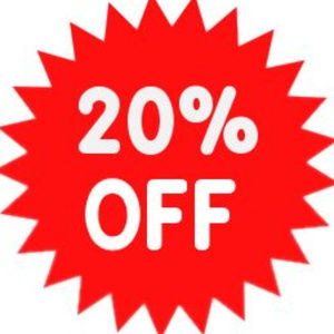 Other - Instant 20% off any liked items